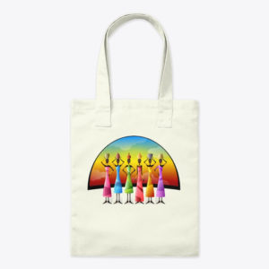 African Women Tribe Tote Bag