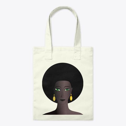 Afro Girl Tote Bag
