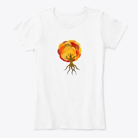 Balloon Autumn Tree T-Shirt