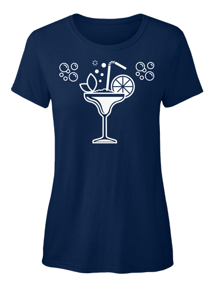 Cocktail Glass t-Shirt blue