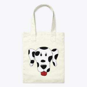 Dalamation tote bag