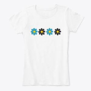 Flower Petal T-Shirts for Women