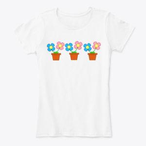 Flower Pot T-Shirt
