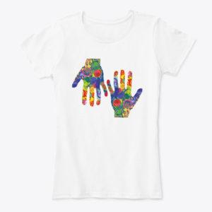 Vibrant Hands T-Shirt