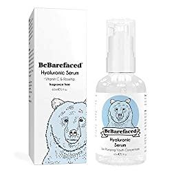 BeBarefaced Hyaluronic Acid Serum for Face With Vitamin C & Retinol