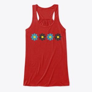 Flower Petal Tank Top