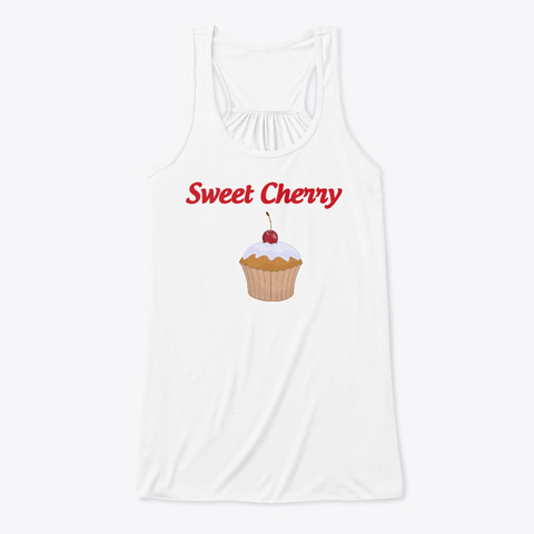 Sweet Cherry Cup Cake Tank Top