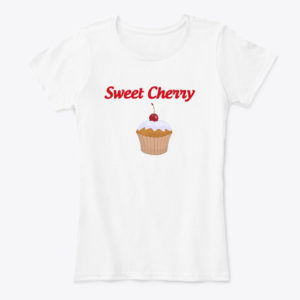 Sweet Cherry Cup Cake T-Shirt
