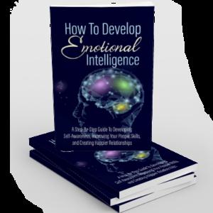 emotional intelligence stacked books